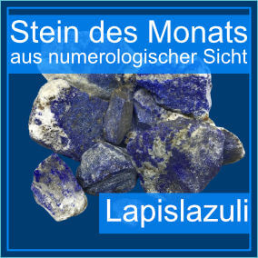 Lapislazuli - Heilstein des Monats September 2021