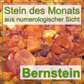 Stein des Monats - Bernstein