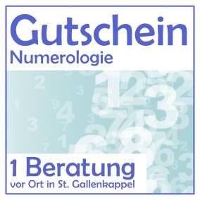 achtsam erleben - Gutschein numerologische Beratung