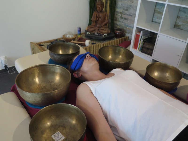 Klangschalen-Therapie & Erlebnis