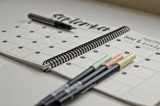 Terminplanung achtsam erleben